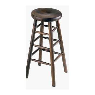 Solid Wood Backless 24 Counter Stools