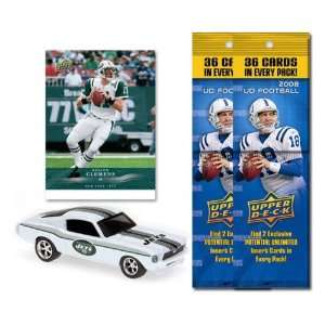 New York Jets 1967 Ford Mustang Fastback Die Cast with Kellen Clemens