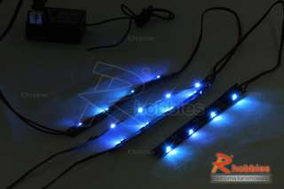 10 RC Car Ultra Bright & Slim LED Night Light Set