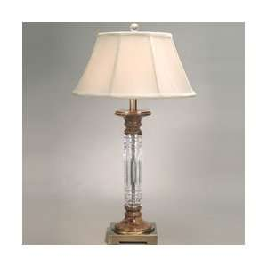 Dale Tiffany GT60627 Sierra Table Lamp, Antique Brass and