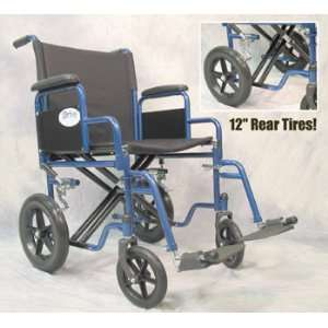 Heavy Duty Transport Chair   20   Red Health & Personal