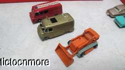 MATCHBOX CARS GRAY WHEELS COCA COLA TRUCK CONSTRUCTION PICKFORDS