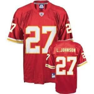 Larry Johnson #27 Kansas City Chiefs NFL Replica Player Jersey By