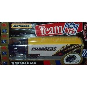Tractor Trailer Football Team Truck White Rose Collectible Car Sports
