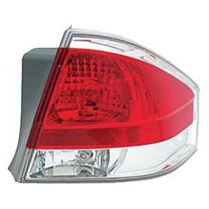 OE Replacement Ford Focus Passenger Side Taillight Assembly (Partslink