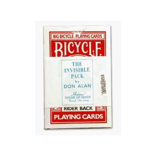 Deck Bicycle JUMBO Cards Magic Tricks Visable