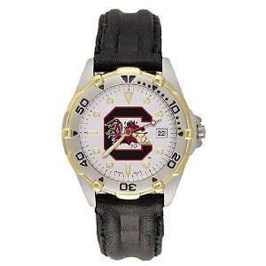 South Carolina Gamecocks Mens C & Gamecock Logo All Star Watch w