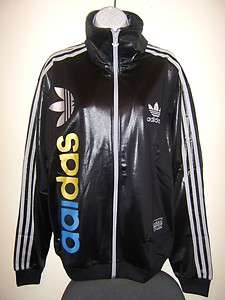 62 LINEAR TRACK TOP JACKET MENS WOMENS BLACK/SILVER/GOLD/BLUE