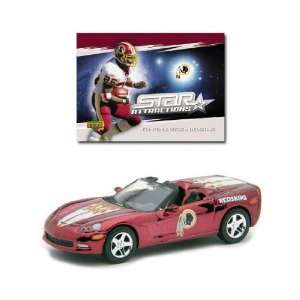 Die Cast Collectible Car with Clinton Portis Card