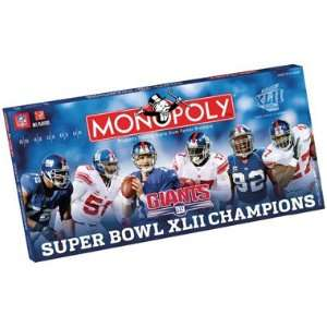 USAopoly New York Giants NFL Super Bowl Monopoly Toys & Games