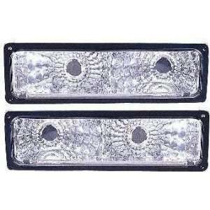 94 99 CHEVY CHEVROLET SUBURBAN EURO CRYSTAL CLEAR TURN SIGNAL SUV, one