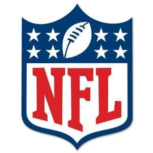 NFL National Football League Logo car sticker 8x 12