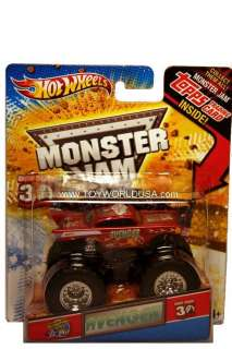 2012 Hot Wheels Monster Jam Avenger w/ Topps Trading Card
