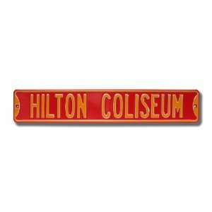 IOWA STATE CYCLONES HILTON COLISEUM AUTHENTIC METAL