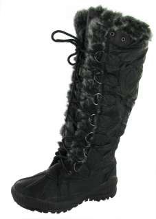 HOT FASHION Katina Faux Fur Mukluk Snow Fashion Womens Boots Shoes Sz