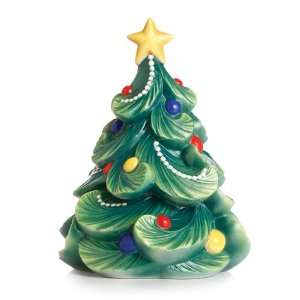 Holiday Greetings Christmas Tree Figurine