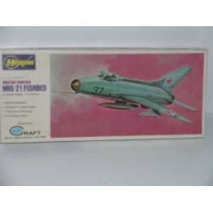 U.S.S.R. Fighter Mig 21 Fishbed   Plastic Model Kit