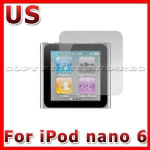 ANTI GLARE MATTE SCREEN PROTECTOR COVER GUARD FOR APPLE IPOD NANO 6