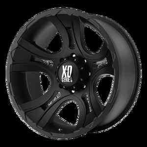 XD 801 CRANK 18X9 JEEP FORD CHEVY DODGE WHEEL