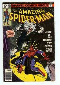 AMAZING SPIDER MAN #194   1979   1ST APPEAR. BLACK CAT