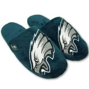 EAGLES OFFICIAL LOGO PLUSH SLIPPERS SZ M