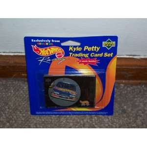 Hot Wheels Kyle Petty Trading Card Set.5 Cards Inside