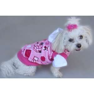 Hooded Velour Dog Shirt (Medium)