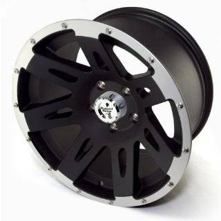 Ridge Jeep Wrangler JK Black Satin Wheel (17x 9/5x5) Automotive