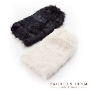 Fashion Faux Fur Leg Warmer Sock Boot Cover
