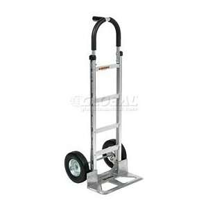 Aluminum Hand Truck Pin Handle Pneumatic Wheels