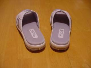 Girls new in the box, White/Grey Slide Sandal from Mudd.