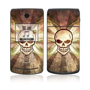 LG Chocolate 3 (VX8560) Skin Decal Sticker   Laughing Skull