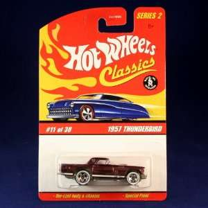 1957 THUNDERBIRD (PURPLE) 2005 Hot Wheels Classics 164 Scale SERIES 2