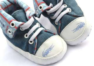 blue high top new infants toddler baby boy walking shoes size 2 3 4