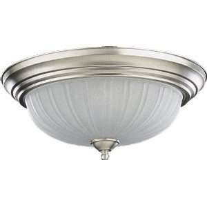 Quorum International 15 Satin Nickel Flush Mount 3074 15