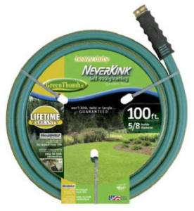 Green Thumb Neverkink 5/8 Heavy Duty Garden Hose