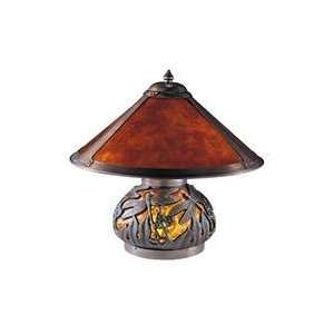 Dale Tiffany Lighting TT100162 Dragonfly Mica Table Lamp in Antique