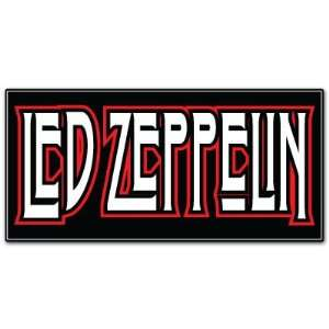 Led Zeppelin Rock Band Car Bumper Sticker Decal 6x3