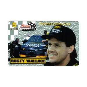 5u Platinum Series Rusty Wallace (Miller Draft Beer) Printers Proof
