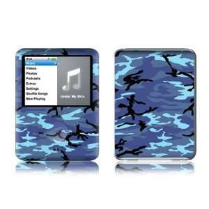Camo Design Protective Decal Skin Sticker for Apple iPod nano 3G (3rd