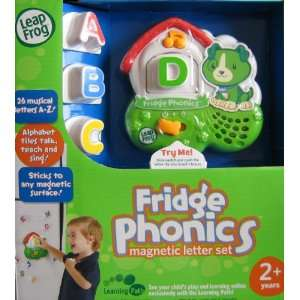 Leap Frog Fridge Phonics Magnetic Letter Set (DOG) w 26
