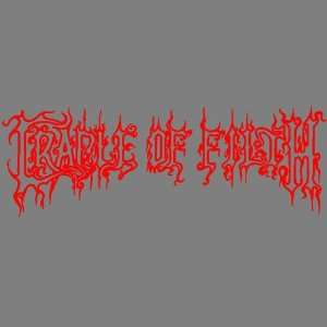 CRADLE OF FILTH (RED) DECAL STICKER WINDOW CAR TRUCK