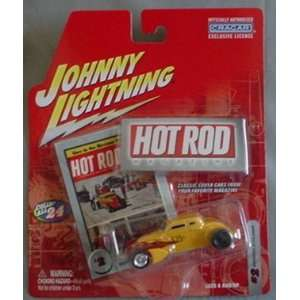 Hot Rod Magazine Bonneville Speed Coupe YELLOW #2 Toys & Games