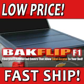 BAKFlip F1 Tonneau Bed Cover 08 12 Ford Super Duty Short Bed 6,8