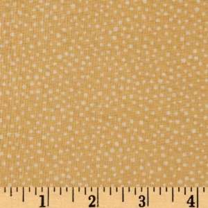 44 Wide Studio Coordinates Dots Yellow Fabric By The