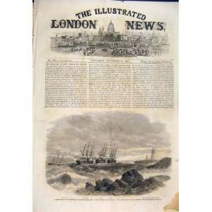 Portrland United States America Andrews Boat Usa 1860