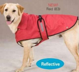 Zack & Zoey Ripstop Ranch Dog Coat Jacket Red NEW