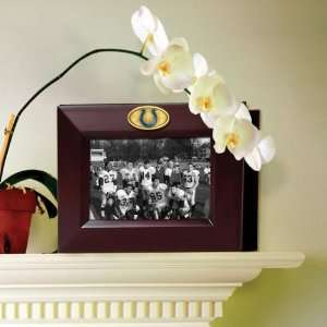 INDIANAPOLIS COLTS Team Logo 7 X 8.75 Walnut Medallion PHOTO ALBUM