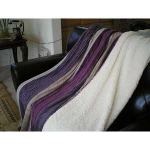 SUPER SOFT Queen FAUX FUR / MICRO FIBER BLANKET / Bedspread / Throw