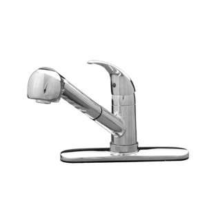 Lead Compliant Single Handle Kitchen Faucet with Metal Lever H Home